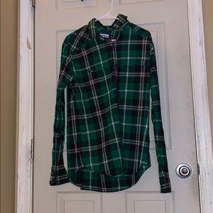 Express Long Sleeve Flannel Shirt